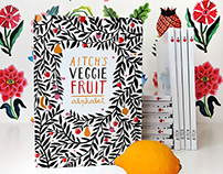 Aitch's VeggieFruit Alphabet - The Book