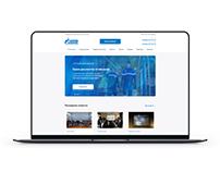 Сайт для Газпрома