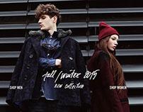 Pando Wear FW15 campaign