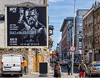 Dublin Outdoor UFC202 - Regionalisation