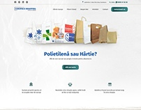 Europack Wrapping Solutions - Website Design