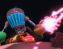 Sweet Dreams, Bitter City! (sketchfab Contest Entry)