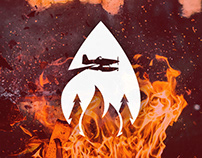 Fighting forest fires with a new logo