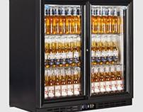 Interlevin EC20S Low Energy Double Door Bottle Cooler 2
