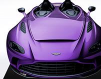 2020 Aston Martin V12 Speedster Orchid
