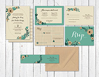 Burger King Wedding Invitations
