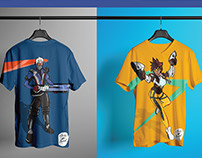 Overwatch T-shirt Art