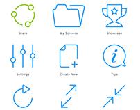Kickpin Icons