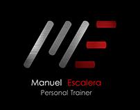 Logo for personal trainer Manuel Escalera