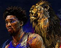 NBA Philadelphia 76ers: Joël Embiid/ Ben Simmons.