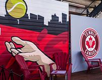 Tennis Canada Mural