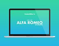 Use Case Design - Alfa Romeo of London