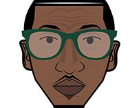 Darrien Key-Cartoon Head