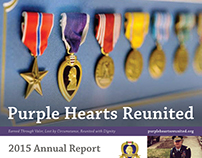 Purple Hearts Reunited 2015 Annual Report