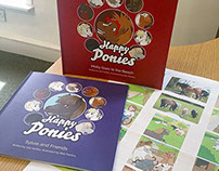 Happy Ponies - Published children's book illustration