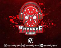 Mask Mascot Sport Logo | Vorhese E-Sport Logo