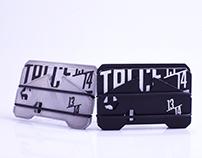 13/14 Aluminium Wallet
