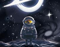 For Kip Stephen Thorne-interstellar&ziroom space bear
