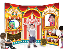 Circus Playground: Cardboard Toy Design