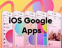 iOS Google Apps Redesign
