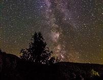 Milky way in Espot