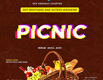 Picnic flyer design and Countdown
