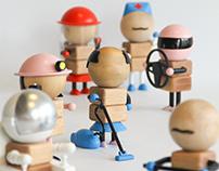Unisex toys design