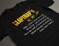T-Shirts Design - Comics & Videogames
