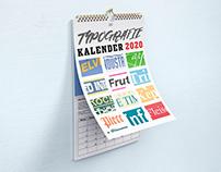 TYPOGRAFIE KALENDER