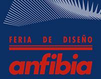 """Feria de diseño """"Anfibia"""" Flyers design"""