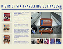 District Six Travelling Suitcases