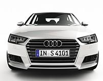 Audi A4 Avant - CGI