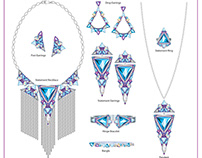 Digital Jewelry Illustrations