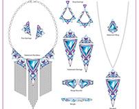 Digital Jewelry Illustrations