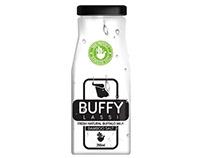 Packaging Design for Buffy Lassi (Yoghurt Drink)