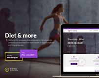 Diet & more - website
