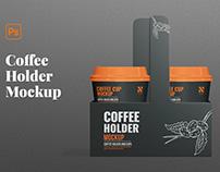 Coffee Holder Mockup