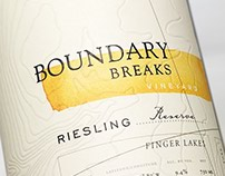 Boundary Breaks Wine Label & Packaging