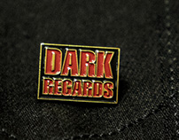 Dark Regards enamel pin
