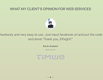 Testimonial slider for wordpress