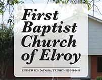 First Baptist Church of Elroy