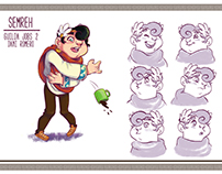Semreh, Deus da Lentidão - Character Design