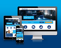 BlueArrow Website Redesign