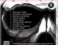 2016 Sampler Ripple Music CD Digipack Design