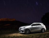 Mercedes AMG GLE Location shoot