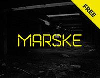 Marske | FREE FONT