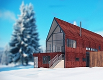 Mountain Home 3D Visualization