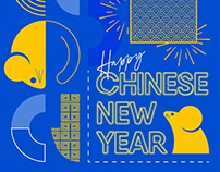 Flying Eagle Chinese New Year 2020 Greetings