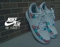 Nike Air Force 1 custom by KOMA