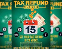 Tax Refund Flyer - Business A5 Template